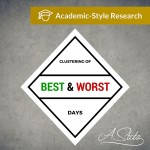Clustering of Best and Worst Days