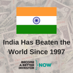 India Has Beaten the World Since 1997