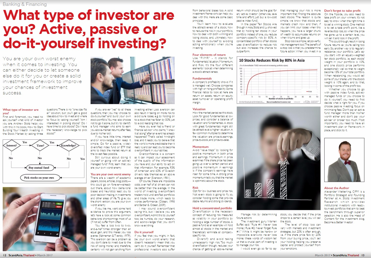What type of investor are you active passive or diy investing active passive or diy investing become a better investor solutioingenieria Images