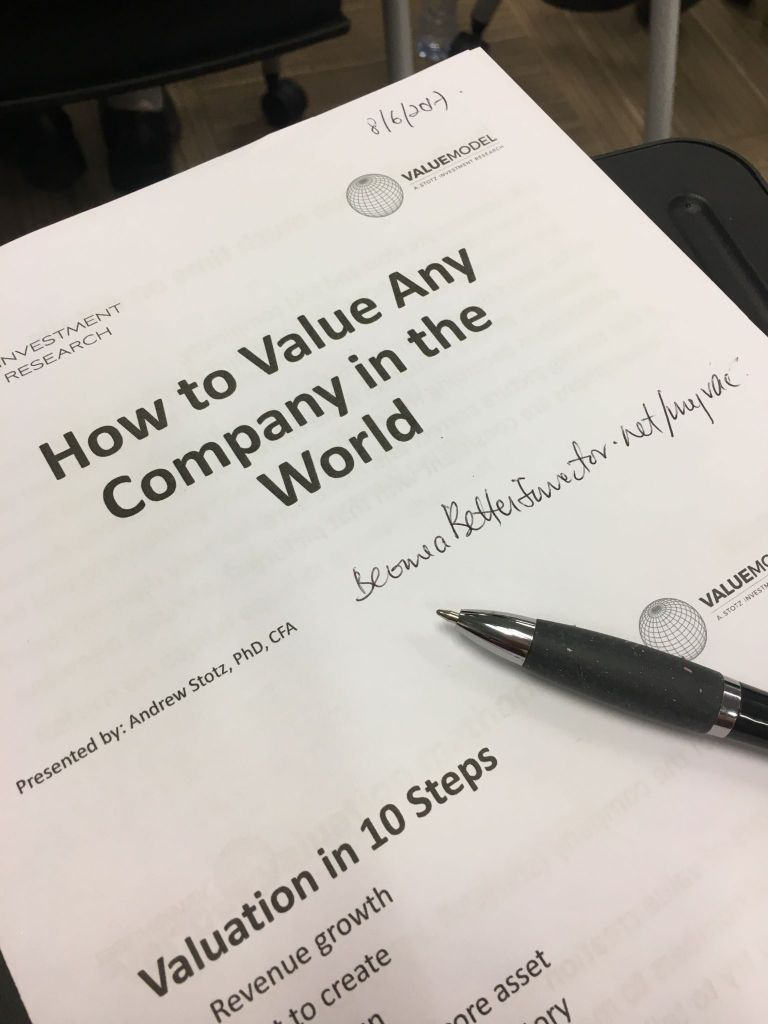 Workbooks cfa workbook : How to Value Any Company in the World for CFA Hong Kong