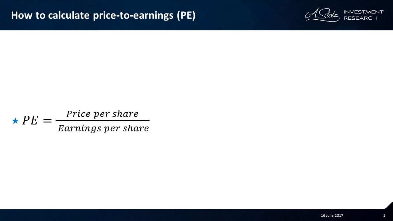 Can You Beat the Market by #Investing in Low PE Stocks?