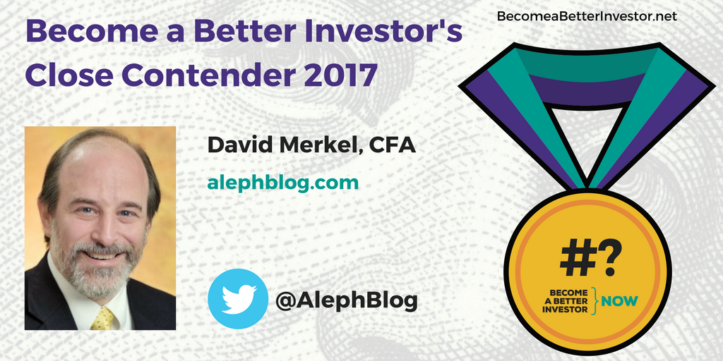 Congratulations @AlephBlog on being a Become a Better #Investor's Close Contender 2017!