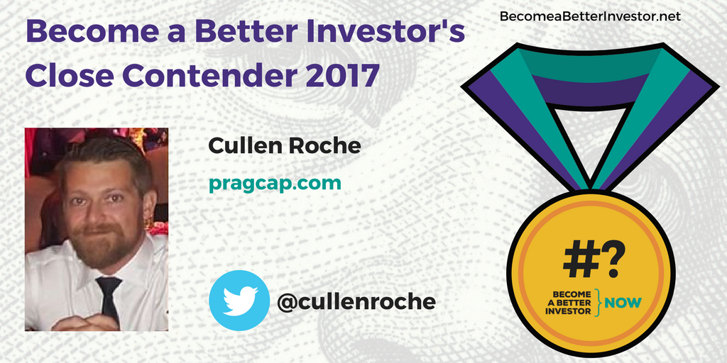Congratulations @cullenroche on being a Become a Better #Investor's Close Contender 2017!
