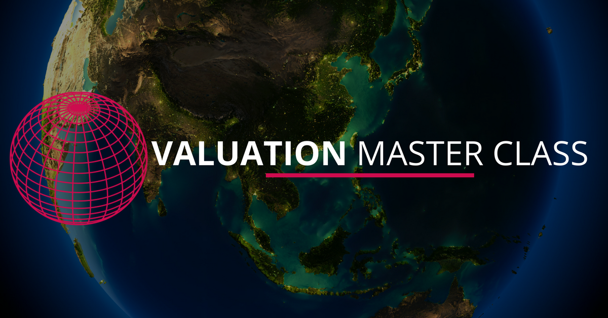 #ValuationMasterClass