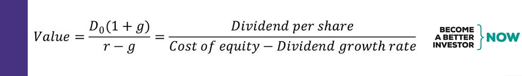 Do you know what the #Dividend Discount Model is sensitive to?