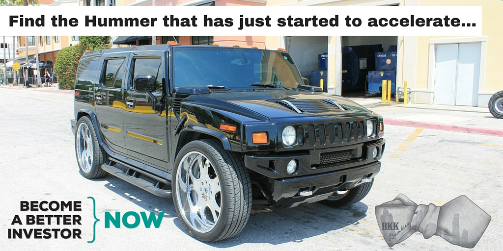 Find out what a Hummer H2 has to do with #investing in #stocks