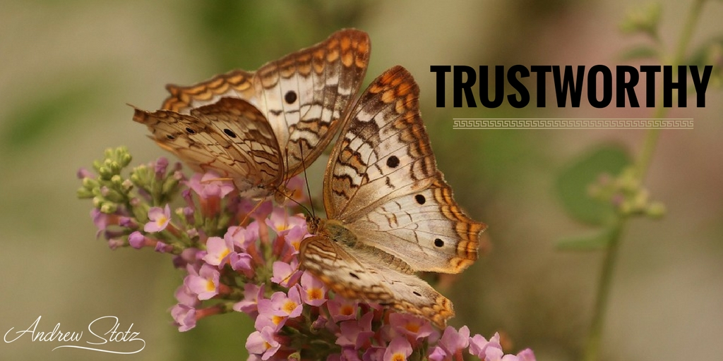 There are very few people that you can truly rely on and #trust in this world