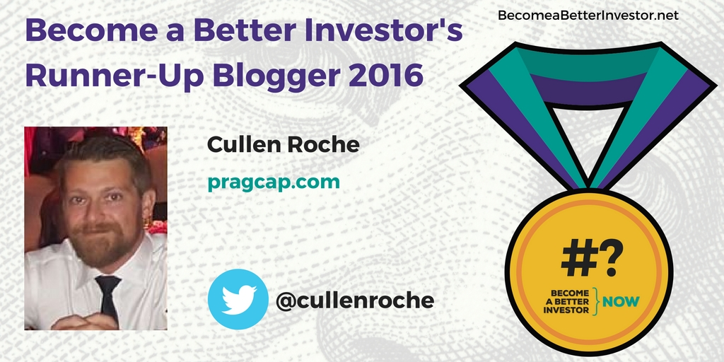 Congratulations @cullenroche on becoming a runner-up Become a Better Investor Blogger 2016!